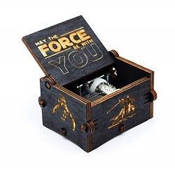 Caja musical negra de star wars amazon